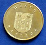 Cena města - mince